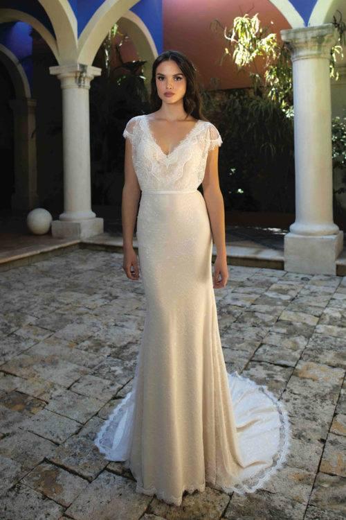 BOM Daphné robe bohème dentelle fine différents coloris taille 36 46 - BO'M Daphné