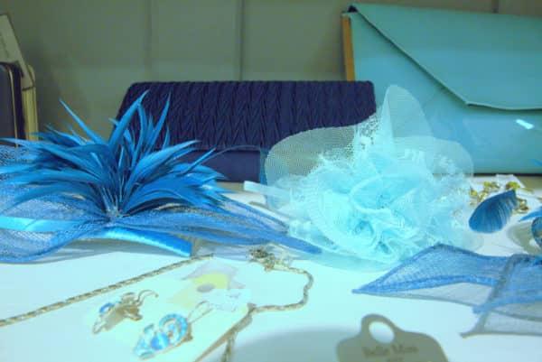 Boutique Lune de Miel Accessoires Mariage 10 - Accesssoire camailleu bleu