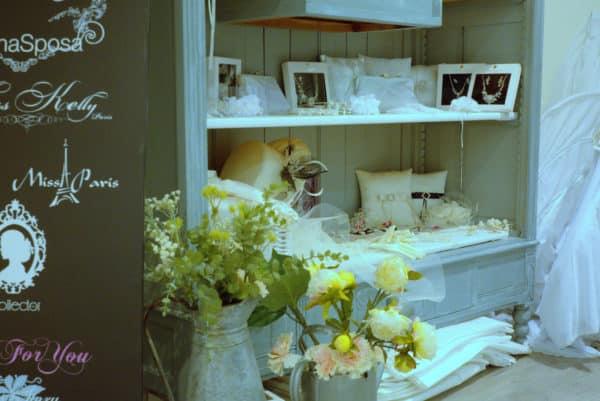 Boutique Lune de Miel Accessoires Mariage 3 - Étagère d'accessoires blanc