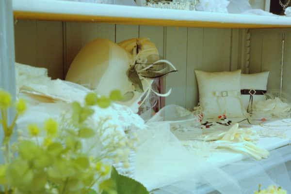Boutique Lune de Miel Accessoires Mariage 4 - Étagère d'accessoires blanc