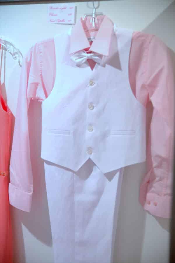 Boutique Lune de Miel Cortège Enfant 1 - Costume cortège enfant