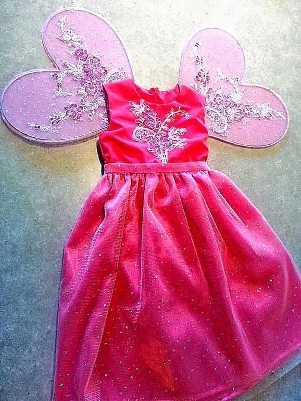 Robe Princesse Rose Enfant 34 - Robe Enfant Marylou