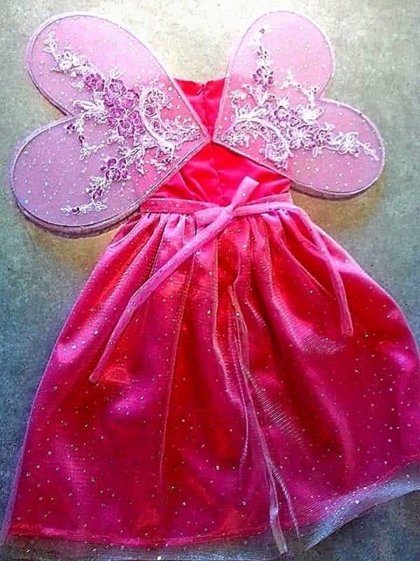 Robe Princesse Rose Enfant 35 - Robe Enfant Marylou