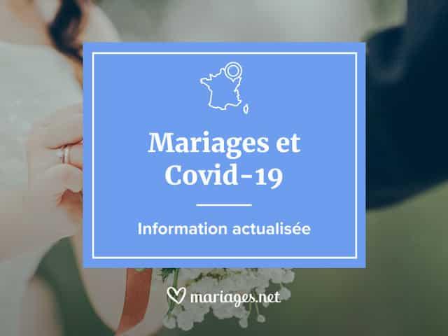Actu Covid-19 : les infos de dernière minute concernant les mariages